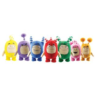 Oddbods Small Soft Toys Assortment