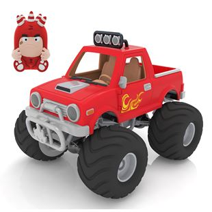 Oddbods Action Vehicle Fuse Monster Truck