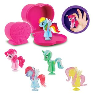 My Little Pony Squishy Pops 5 Pack Pop and Squish