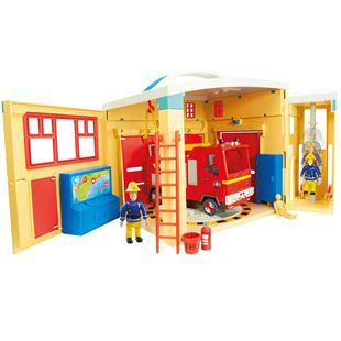 Fireman Sam Electronic Pontypandy Playset