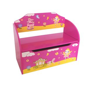 Princess Wooden Toy Box