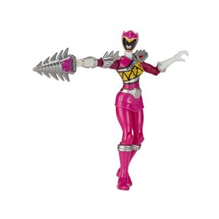 Power Rangers Dino Super Charge Armed Up Pink 12.5cm Figure