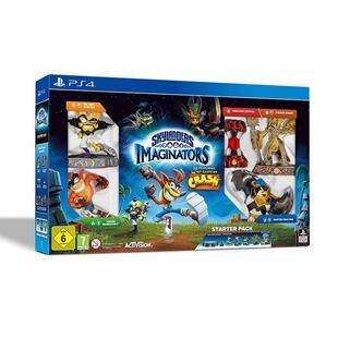 Skylanders Imaginators Starter Pack Crash Bandicoot Edition PS4