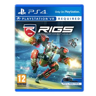 RIGS Mechanised Combat League PS4