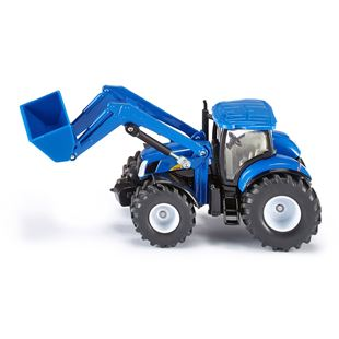 Siku 1:50 New Holland T7070 Tractor with Front Loader
