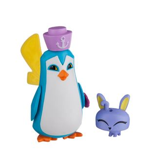 Animal Jam Sir Penguin and Pet Bunny