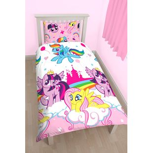 My Little Pony Equestria Single Rotary Duvet