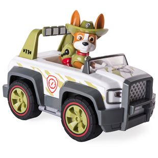 Paw Patrol Jungle Rescue Tracker's Pull Back Explorer Vehicle