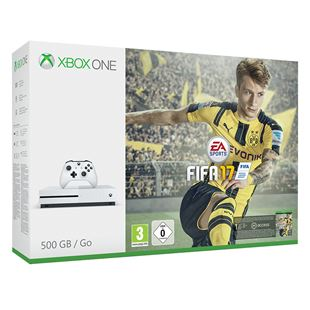 Xbox One S 500GB FIFA 17 Bundle