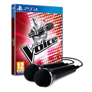 The Voice UK With Two Microphone PS4