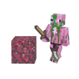Minecraft Zombie Pigman 7cm Figure Pack Series 3