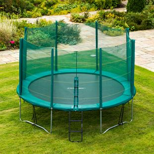 13ft Trampoline and Enclosure