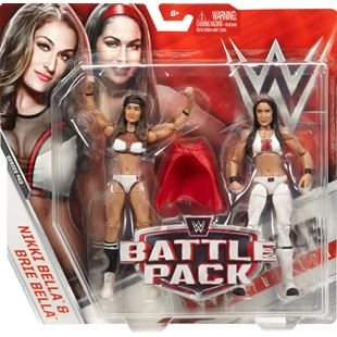 WWE Series 43 Battle Pack Nikki and Brie Bella