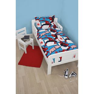 Disney Ultimate Spiderman Parker Junior Bed Bundle