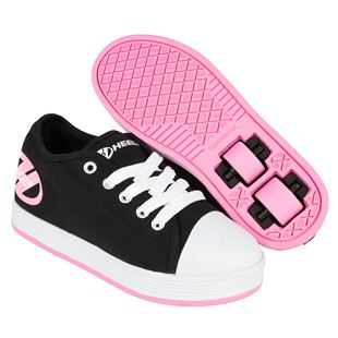 Heelys Fresh Black/Pink UK 4