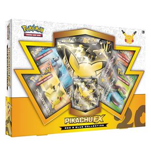 Pokemon TCG Red & Blue Collection–Pikachu EX