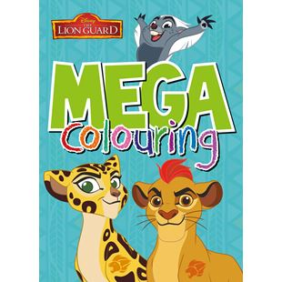 Lion Guard Mega Colouring Book