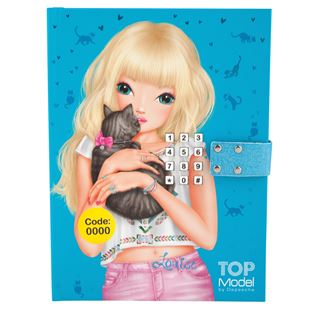 TOPModel Diary With Code - Blue