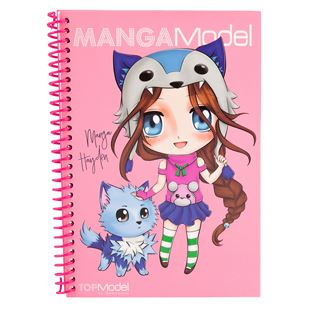 TOP Model MANGAModel Pocket Colouring Book