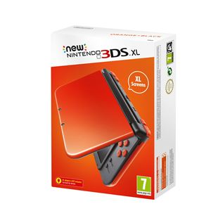 New Nintendo 3DS XL Console - Orange and Black