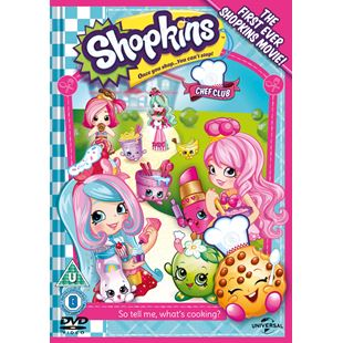 Shopkins Chef Club DVD