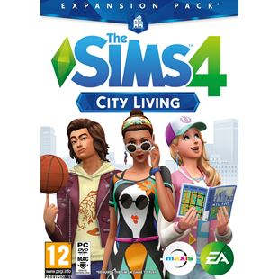 The Sims 4: City Living Expansion Pack PC