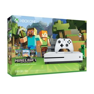 Xbox One S 500GB Minecraft Bundle