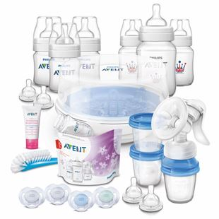 The Philips Avent Classic Plus Essentials Set