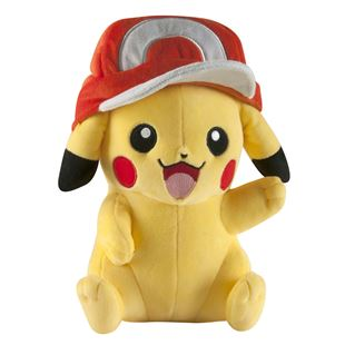 Large Plush Pikachu Ash Hat