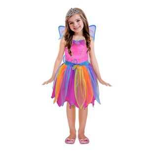 Rainbow Fairy Costume with Wings