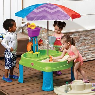 Splash & Scoop Bay with Umbrella
