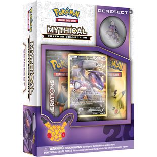 Pokemon Genesect Mythical Collection