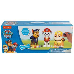 Paw Patrol 3 Pack Paint Your Own Figure