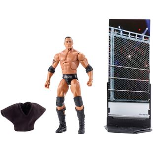 WWE Elite Collection Series 47 B The Rock Figure