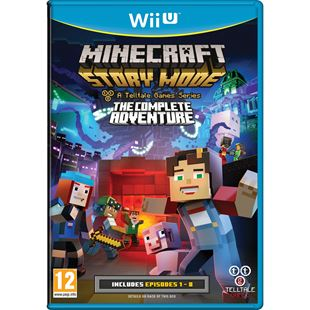 Minecraft Story Mode: The Complete Adventure Wii U