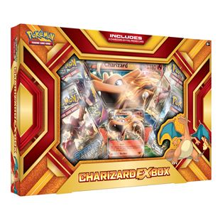 Pokemon TCG: Charizard EX Box 2016- Fire Blast