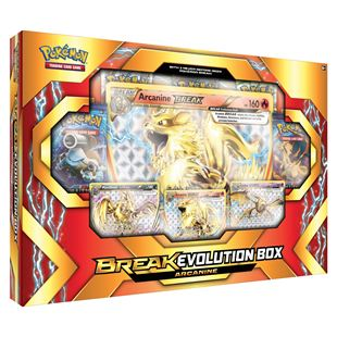 Pokémon TCG: Break Evolution Box Featuring Arcanine