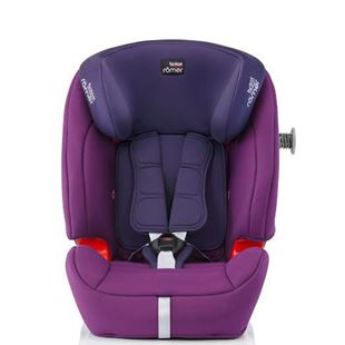 Britax Romer Evolva Group 1-2-3 SL SICT Car Seat Mineral Purple