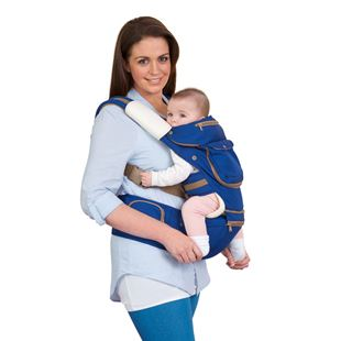 ClevaMama 5 Position Ergonomic Baby and Hip Carrier