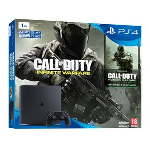 PlayStation 4 New Slimmer 1TB Call of Duty: Infinite Warfare Bundle