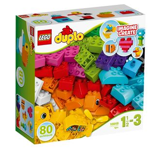 LEGO DUPLO Creative Play My First Bricks 10848