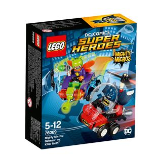 LEGO DC Comics Super Heroes Mighty Micros: Batman vs. Killer Moth 76069