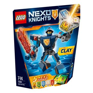 LEGO NEXO KNIGHTS Battle Suit Clay 70362