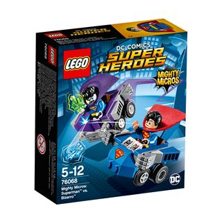 LEGO DC Comics Super Heroes Mighty Micros: Superman vs. Bizarro 76068