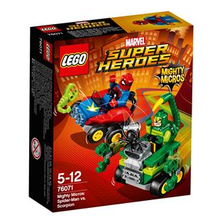 LEGO Marvel Super Heroes Mighty Micros: Spider-Man vs. Scorpion 76071