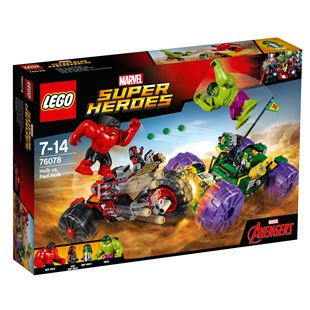 LEGO Marvel Super Heroes Hulk vs. Red Hulk 76078