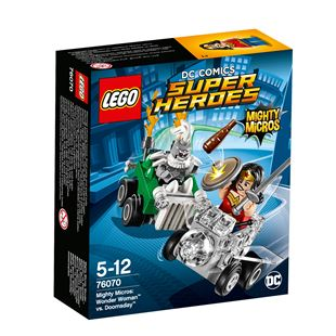 LEGO DC Comics Super Heroes Mighty Micros: Wonder Woman vs. Doomsday 76070