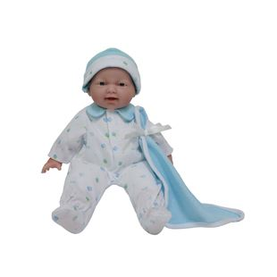 28cm La Baby with Blue Outfit Set
