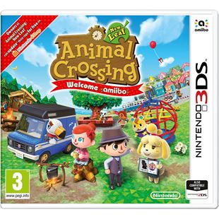 Animal Crossing: New Leaf Welcomes amiibo (includes amiibo card)