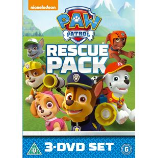 Paw Patrol Rescue Pack DVD Set